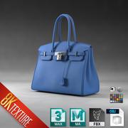 Hermes Birkin Hand Bag Purse 3d model