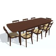 Tisch A Stuhl A 3d model