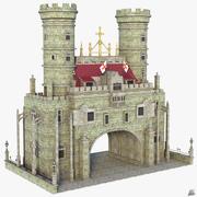 Fantasy Medieval Entrance 3d model