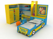 Quarto das crianças 3d model
