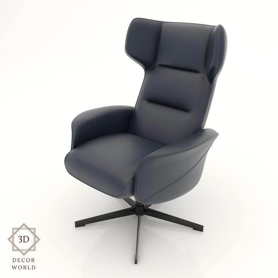 现代办公椅16 royalty-free 3d model - Preview no. 1