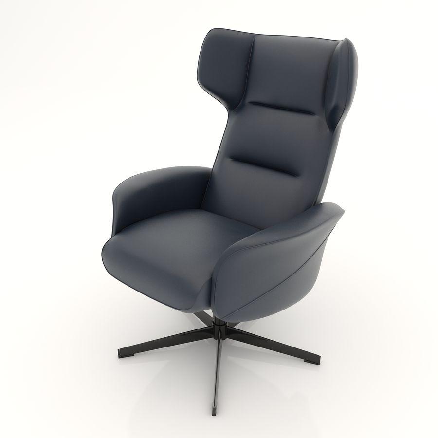 现代办公椅16 royalty-free 3d model - Preview no. 6