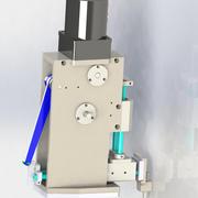 The cams mechanism 3d model