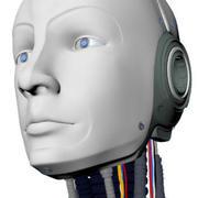 机器人头3D模型 3d model