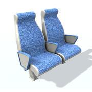 乘客座位A 2 3d model