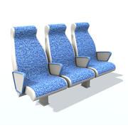 乘客座位A 3 3d model