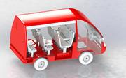микроавтобус 3d model