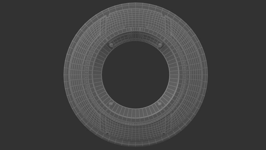 Tron Disc royalty-free 3d model - Preview no. 7