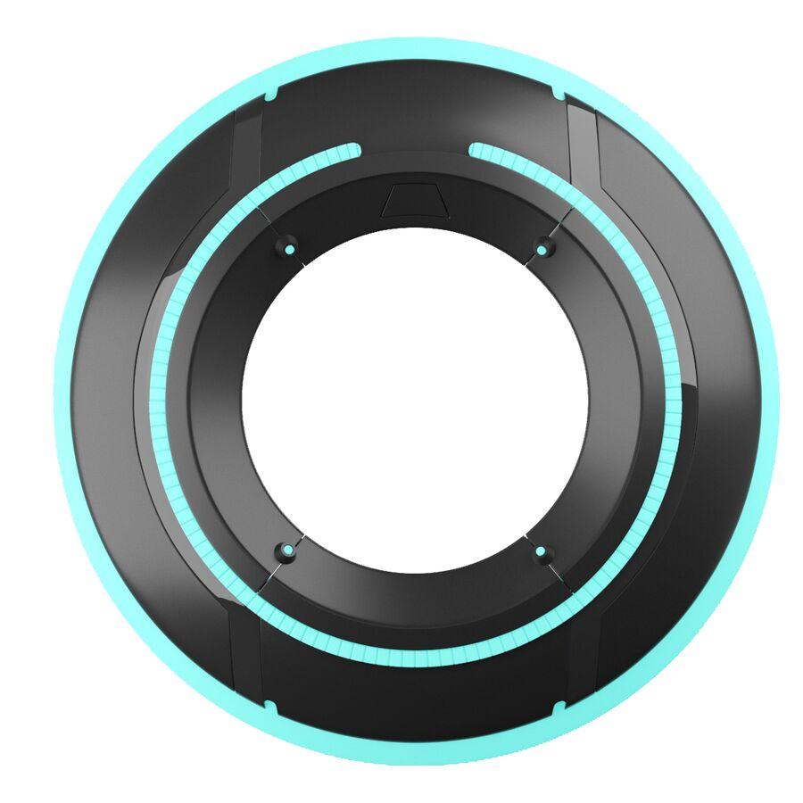 Tron Disc royalty-free 3d model - Preview no. 8