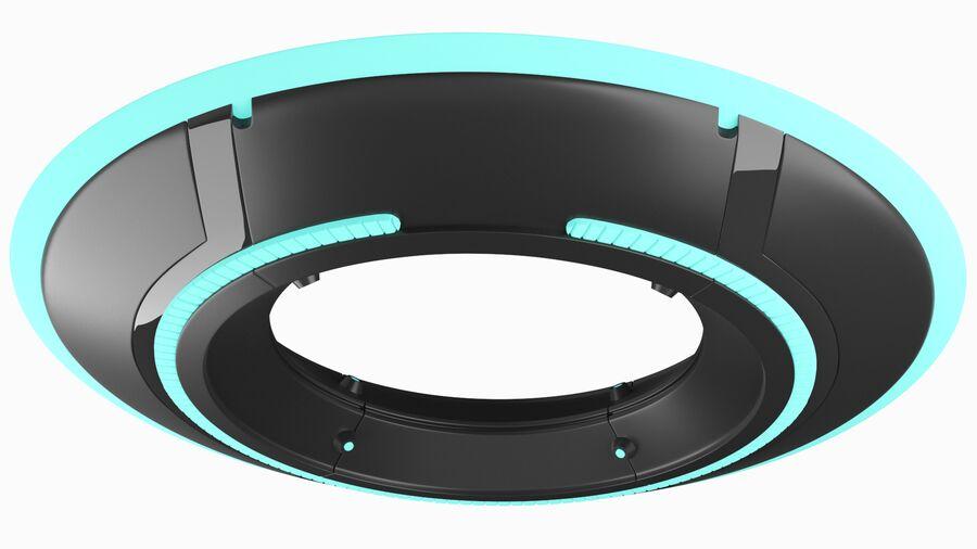 Tron Disc royalty-free 3d model - Preview no. 5