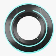 Tron Disc 3d model