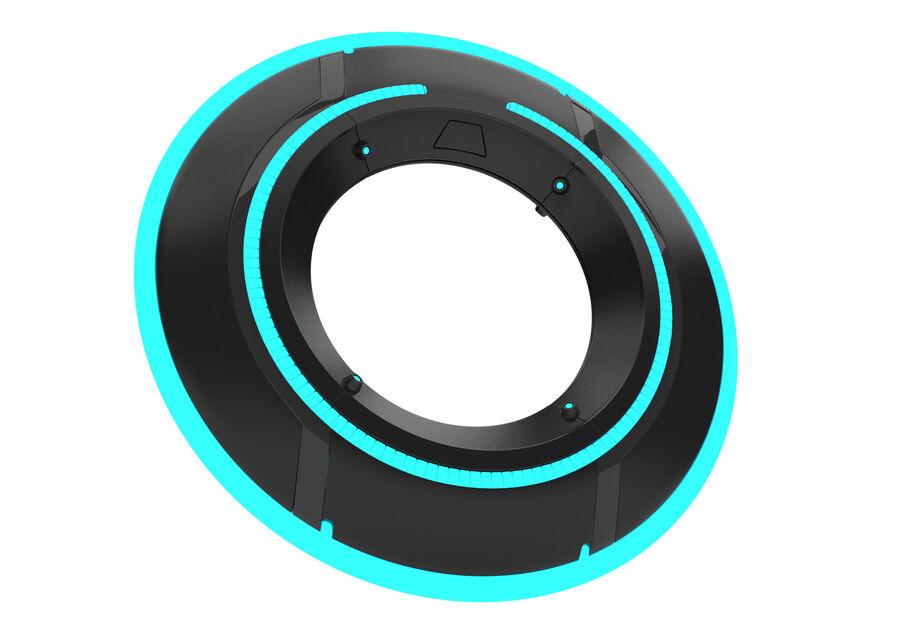 Tron Disc royalty-free 3d model - Preview no. 3