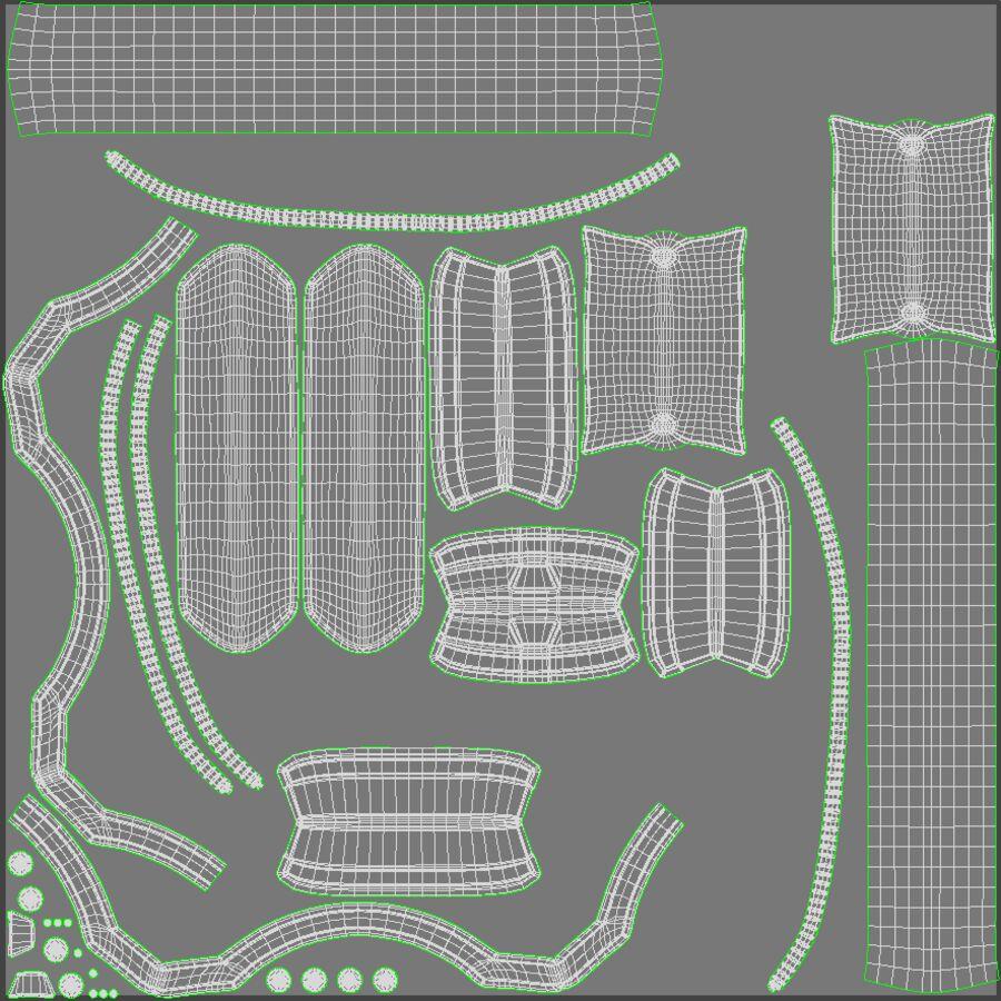 Tron Disc royalty-free 3d model - Preview no. 10