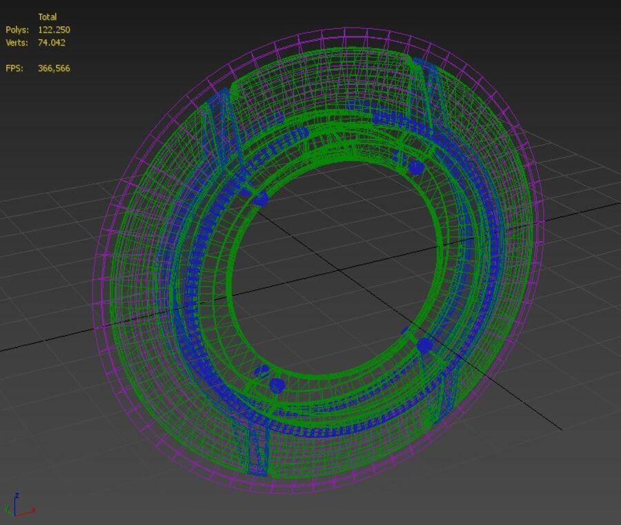 Tron Disc royalty-free 3d model - Preview no. 4
