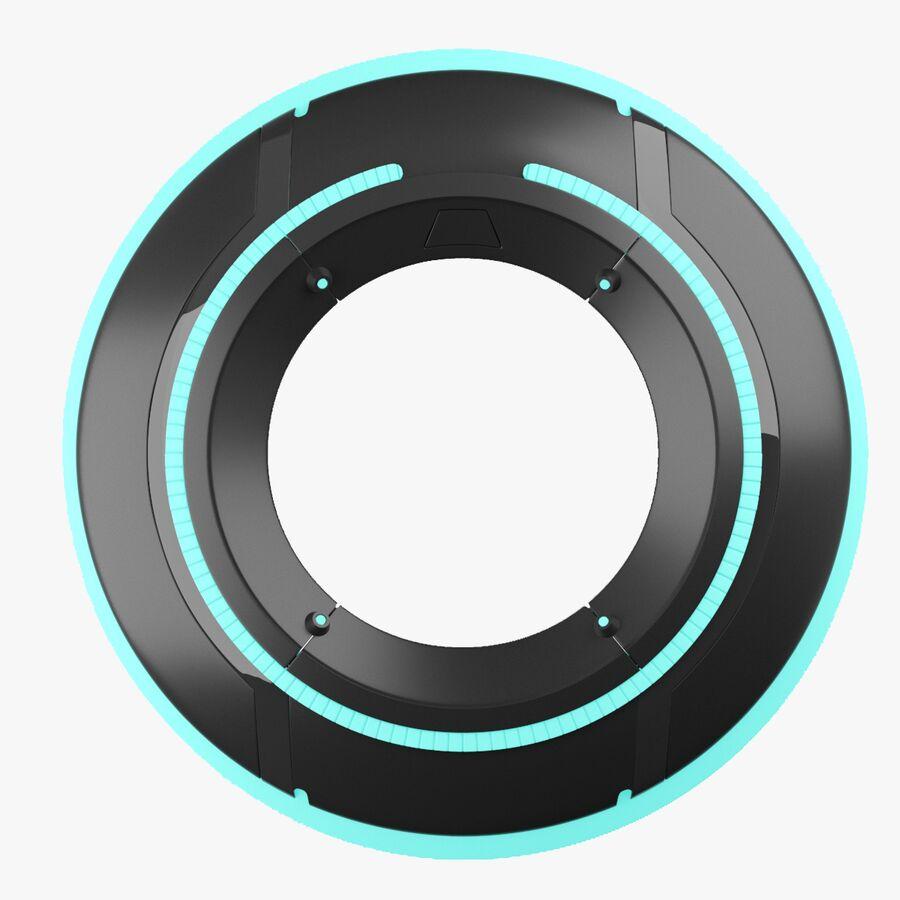 Tron Disc royalty-free 3d model - Preview no. 9