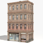 Wohnhaus 21 Low Poly 3d model