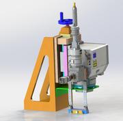 Z-Achse fein drehendes Lasermodul 3d model