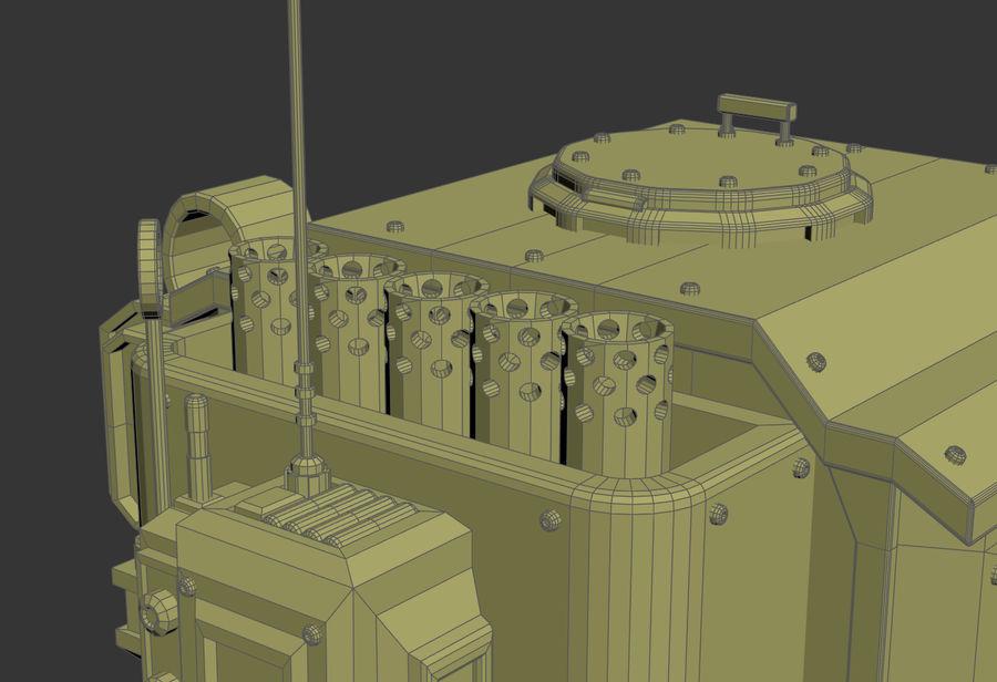Battle_Mech royalty-free 3d model - Preview no. 22