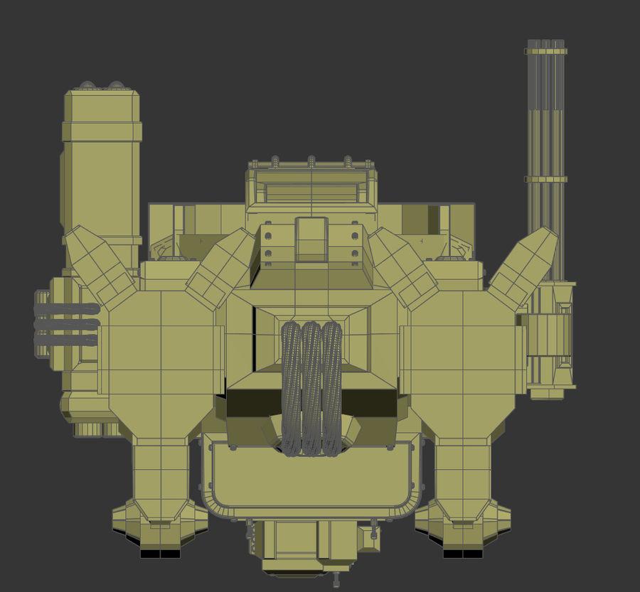 Battle_Mech royalty-free 3d model - Preview no. 20