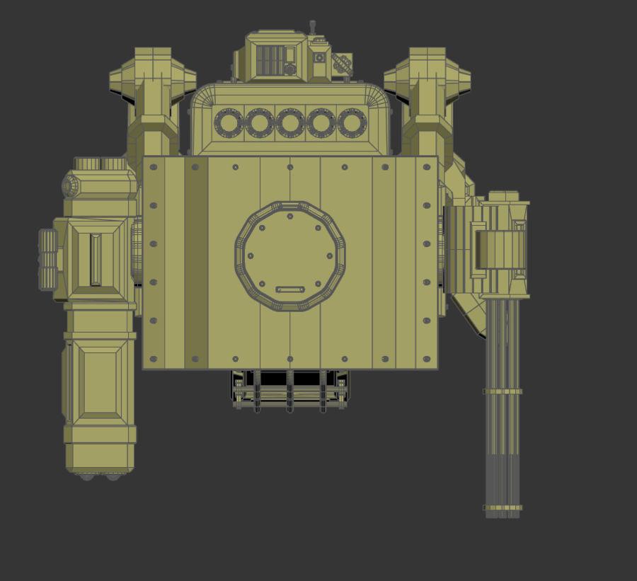 Battle_Mech royalty-free 3d model - Preview no. 19