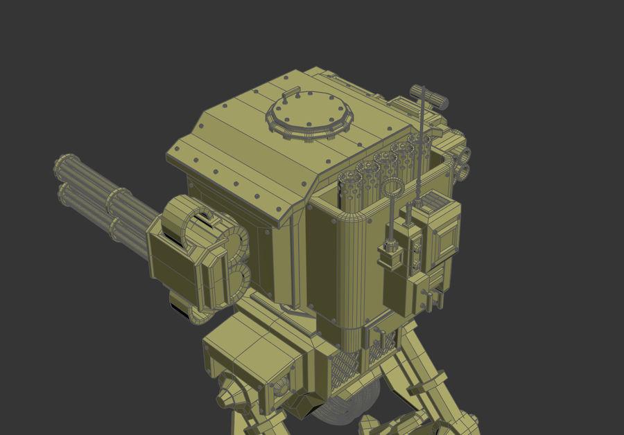 Battle_Mech royalty-free 3d model - Preview no. 4