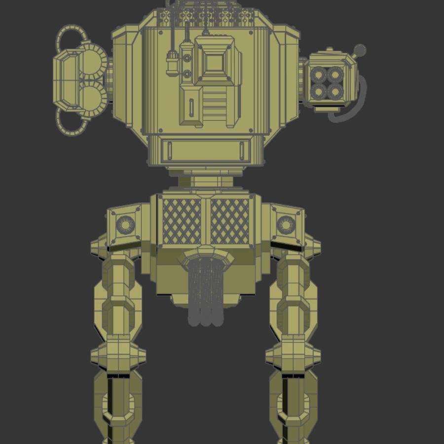Battle_Mech royalty-free 3d model - Preview no. 17