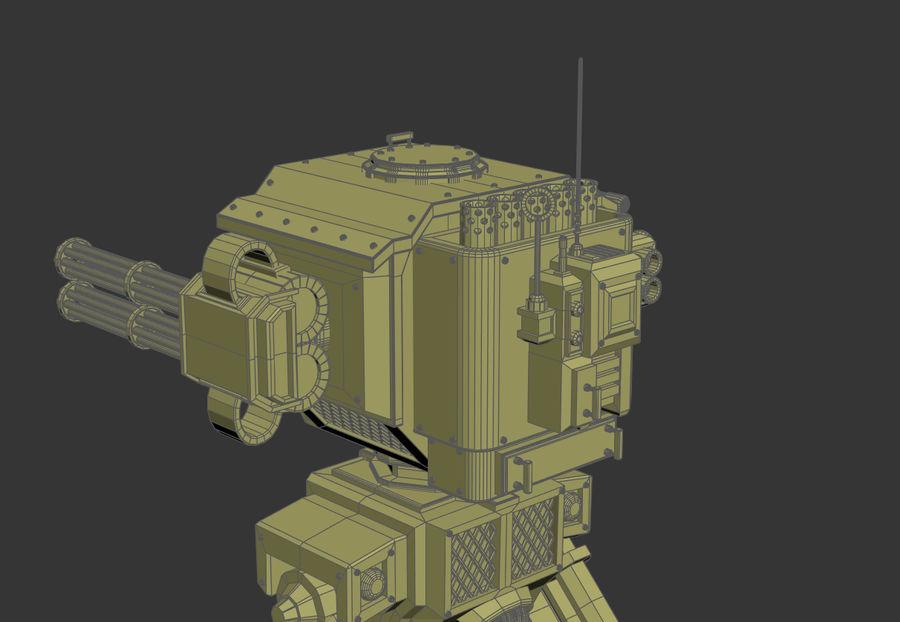 Battle_Mech royalty-free 3d model - Preview no. 3