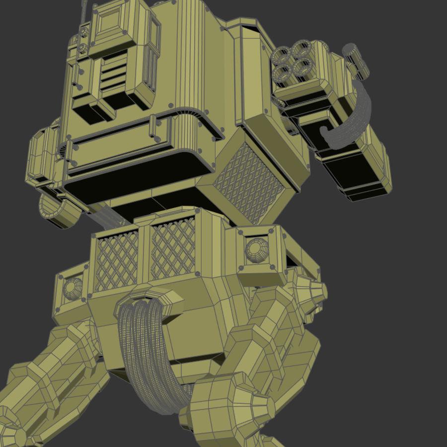 Battle_Mech royalty-free 3d model - Preview no. 10