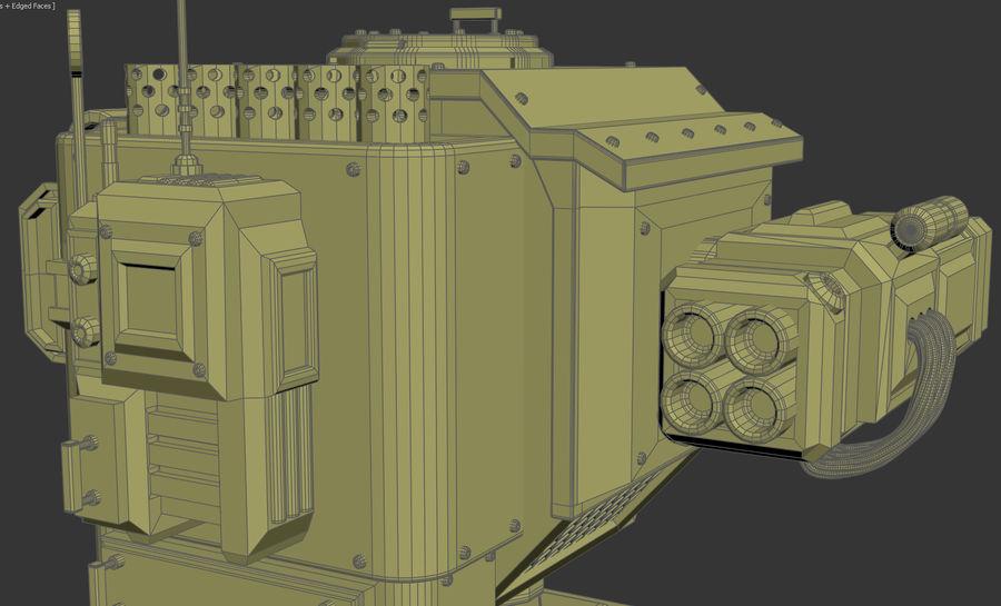 Battle_Mech royalty-free 3d model - Preview no. 6