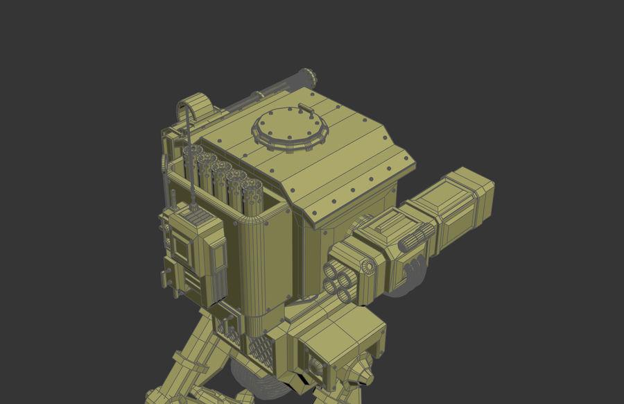 Battle_Mech royalty-free 3d model - Preview no. 5