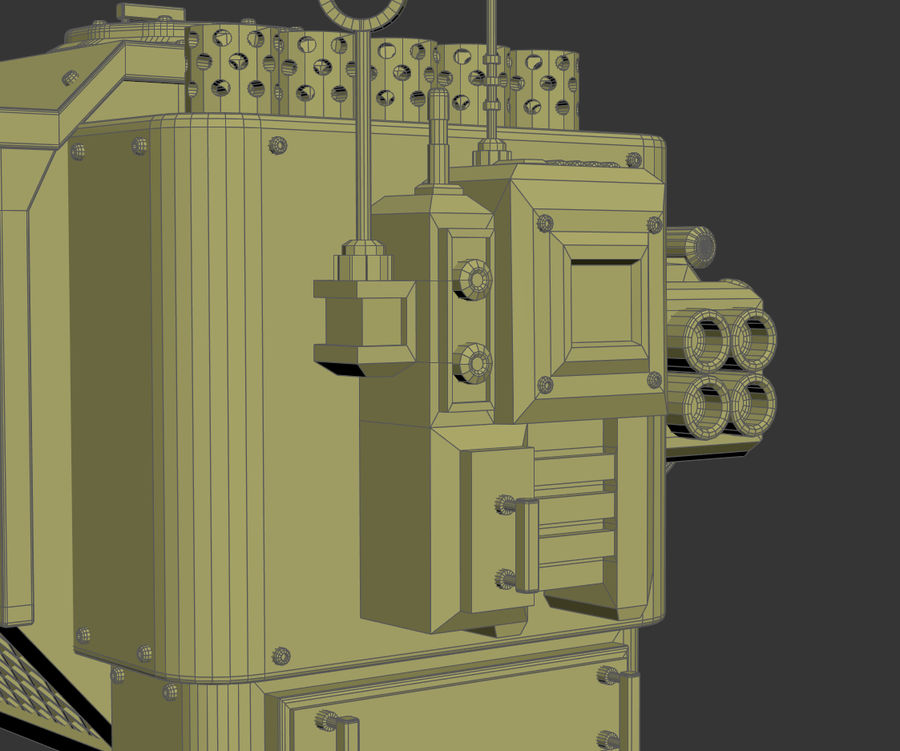 Battle_Mech royalty-free 3d model - Preview no. 21