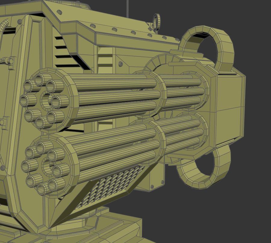 Battle_Mech royalty-free 3d model - Preview no. 11