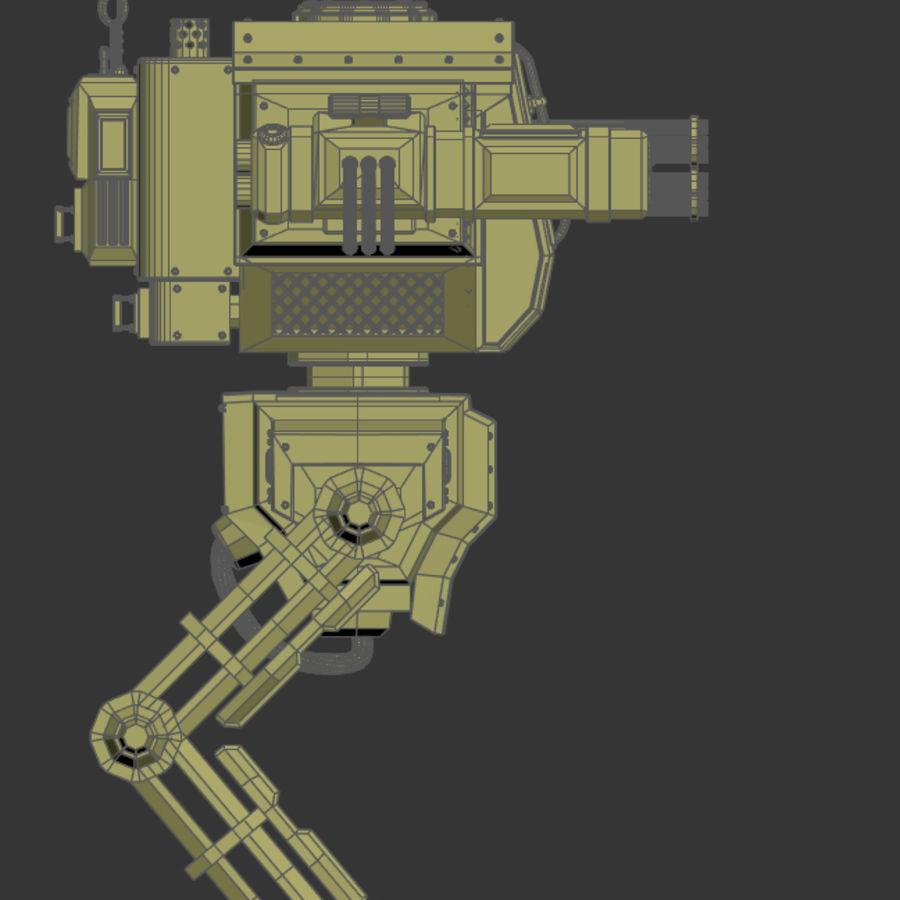 Battle_Mech royalty-free 3d model - Preview no. 16