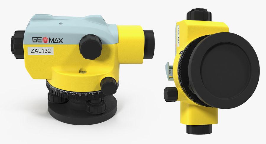 測量機の自動レベル3Dモデル royalty-free 3d model - Preview no. 5
