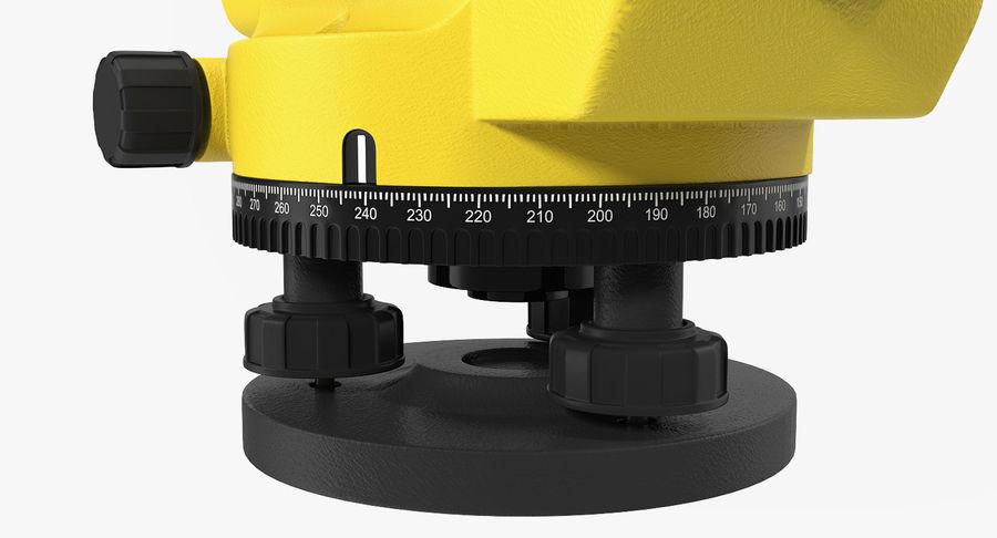 測量機の自動レベル3Dモデル royalty-free 3d model - Preview no. 6