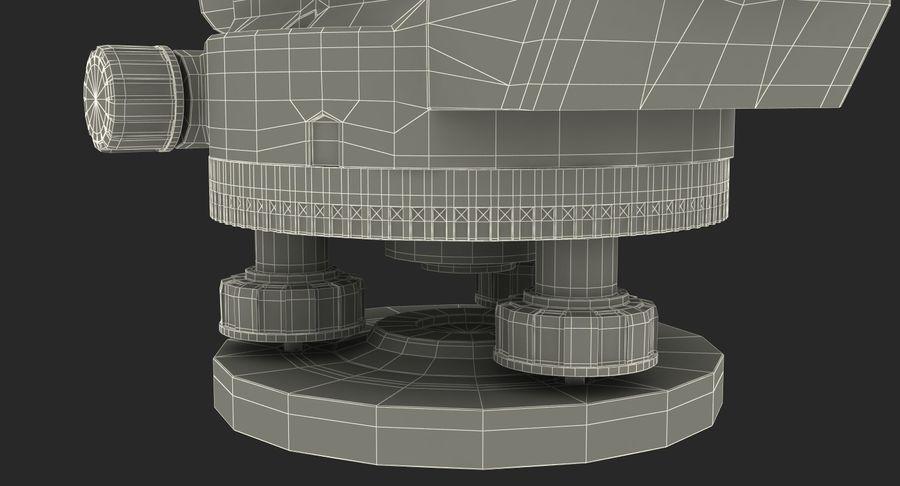 測量機の自動レベル3Dモデル royalty-free 3d model - Preview no. 16