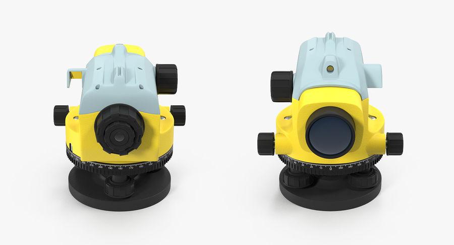 測量機の自動レベル3Dモデル royalty-free 3d model - Preview no. 4