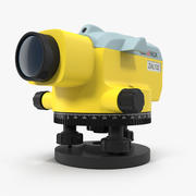 Surveyor Auto Level 3D Model 3d model