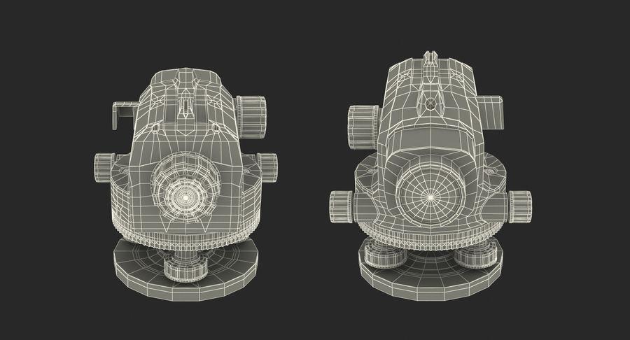 測量機の自動レベル3Dモデル royalty-free 3d model - Preview no. 15