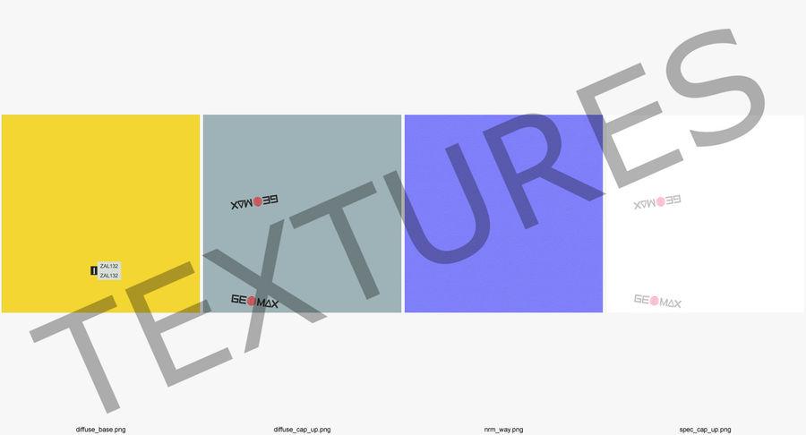 測量機の自動レベル3Dモデル royalty-free 3d model - Preview no. 10