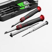 Precision screwdrivers 3d model