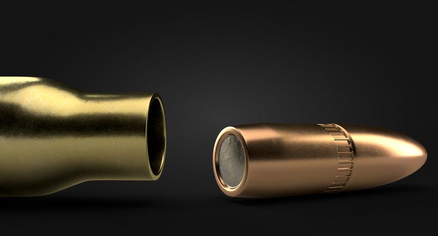 Cartridge 5.56X45 royalty-free 3d model - Preview no. 10