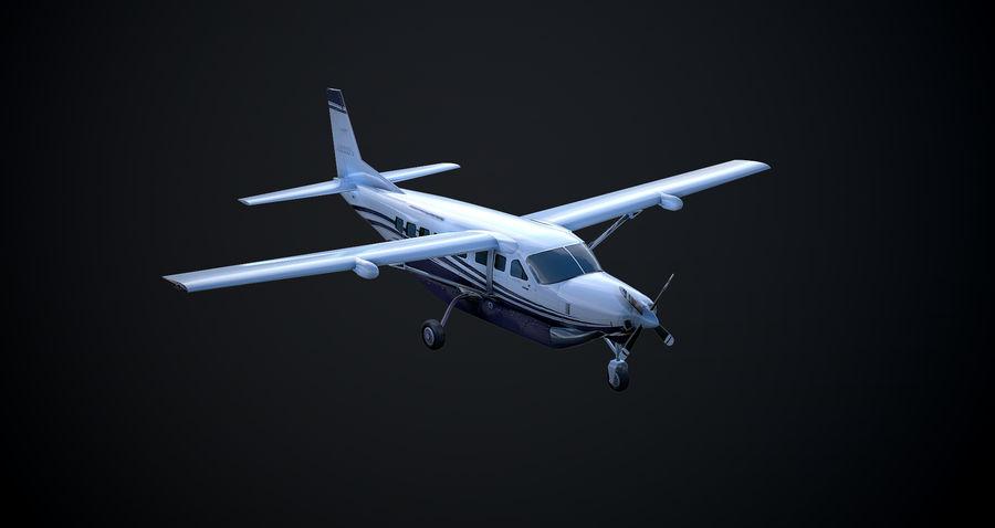 Przyczepa kempingowa Cessna 208 royalty-free 3d model - Preview no. 2