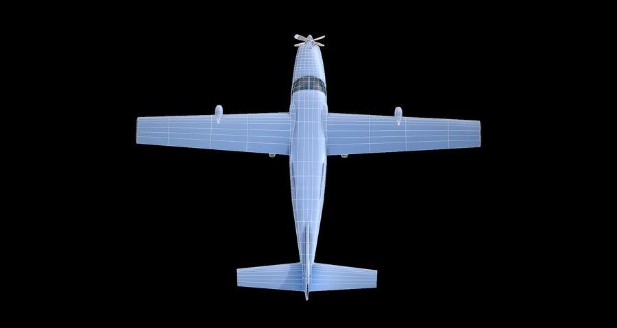 Przyczepa kempingowa Cessna 208 royalty-free 3d model - Preview no. 5