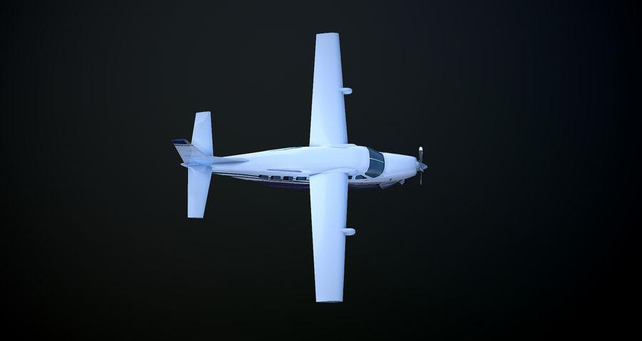 Przyczepa kempingowa Cessna 208 royalty-free 3d model - Preview no. 6