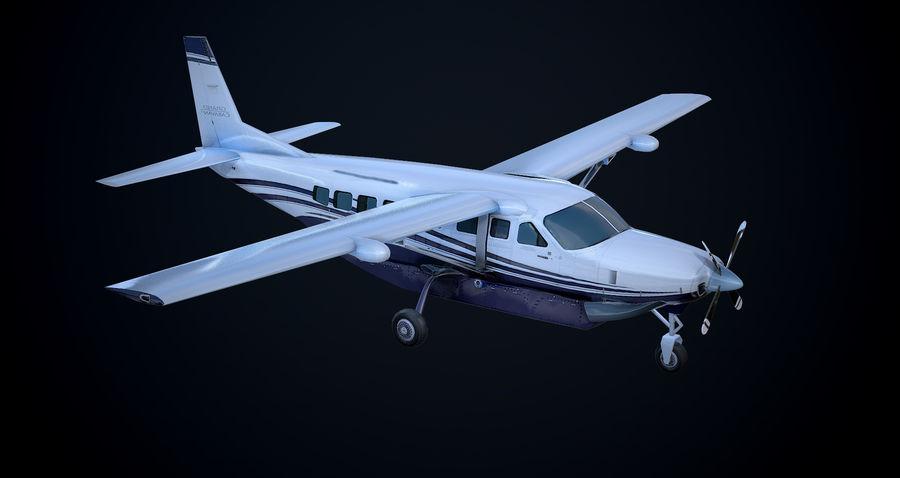 Przyczepa kempingowa Cessna 208 royalty-free 3d model - Preview no. 9