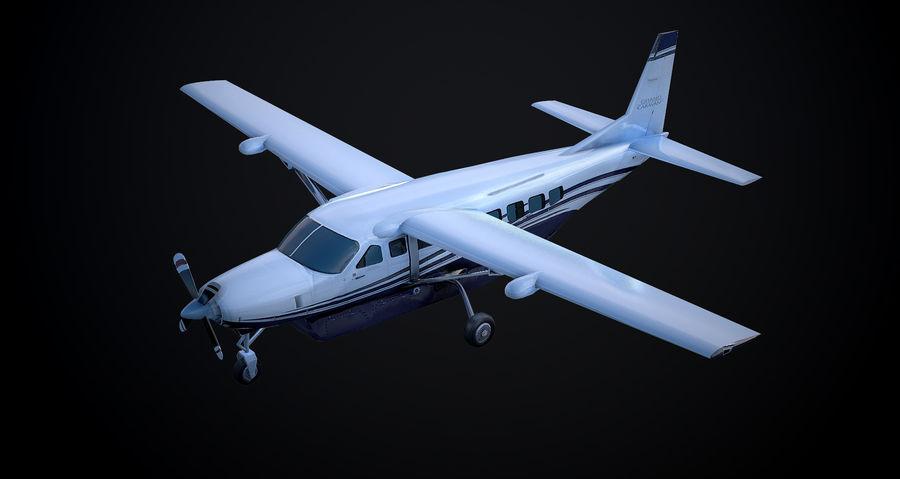 Przyczepa kempingowa Cessna 208 royalty-free 3d model - Preview no. 3