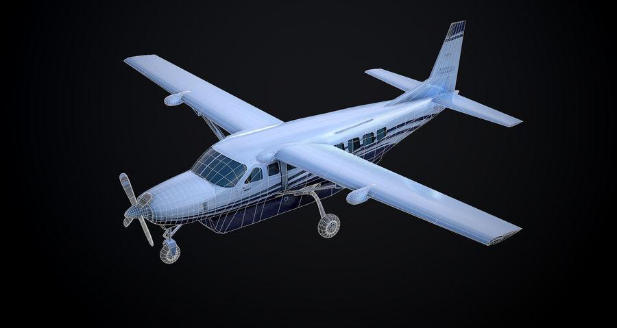Przyczepa kempingowa Cessna 208 royalty-free 3d model - Preview no. 4