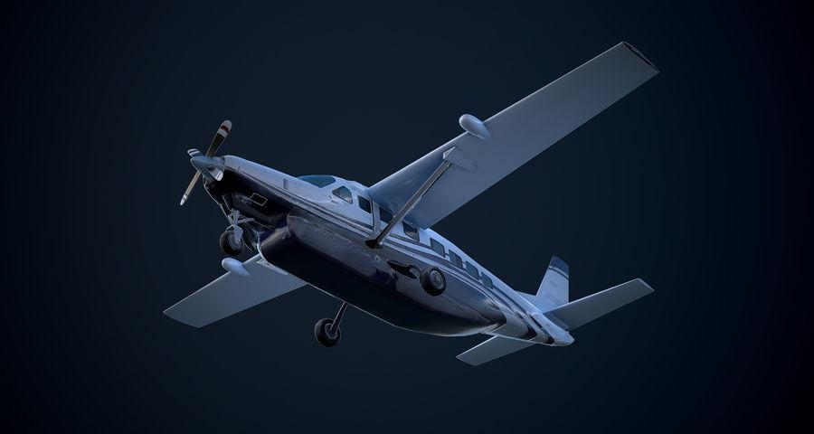 Przyczepa kempingowa Cessna 208 royalty-free 3d model - Preview no. 10