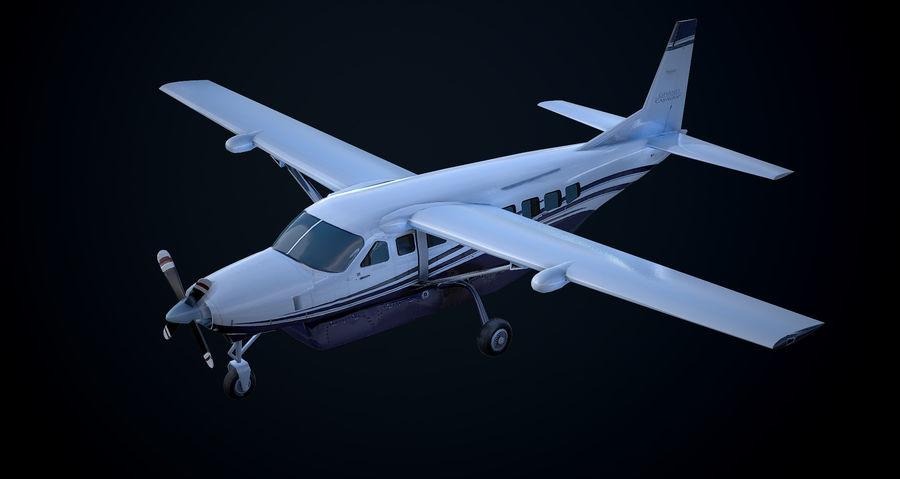 Przyczepa kempingowa Cessna 208 royalty-free 3d model - Preview no. 1